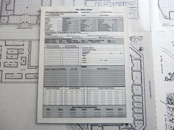 MMM character sheet