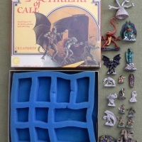 Call of Cthulhu: Creatures and Adventures metal miniatures sets (Grenadier, 1983)