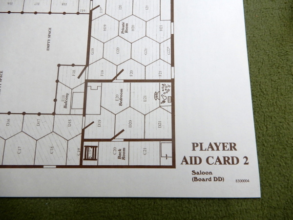 Gunslinger Player Aid Cards detail 2