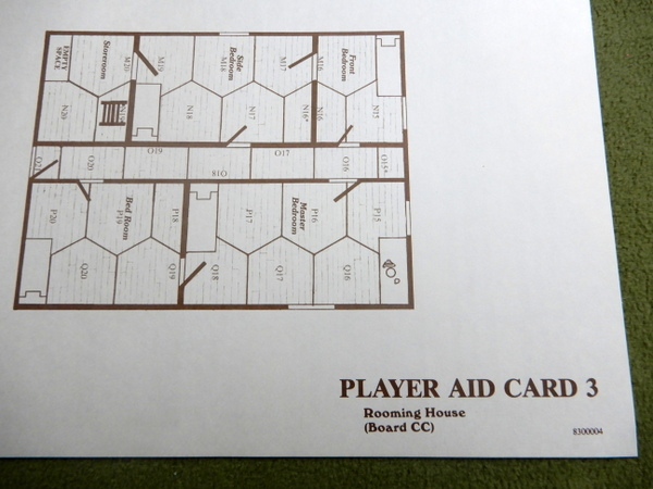 Gunslinger Player Aid Cards detail 3