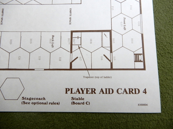 Gunslinger Player Aid Cards detail 5