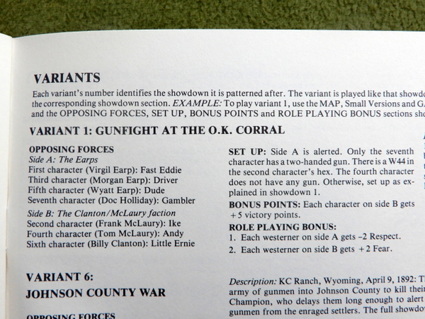 Gunslinger Rules detail 4