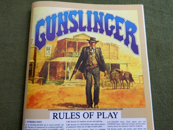 Gunslinger Rules