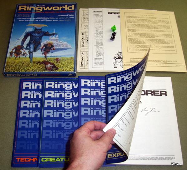 Ringworld box set Larry Niven auto