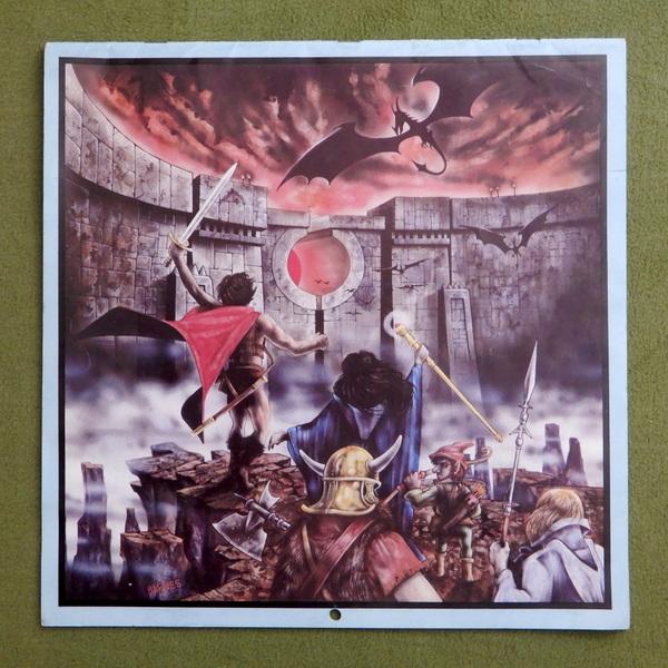 1981 Days of the Dragon calendar