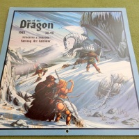 Days of the Dragon: 1982 Dungeons & Dragons Fantasy Art Calendar