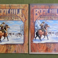 Burned Bush Wells: Boot Hill module BH4 - Original vs. Reprint