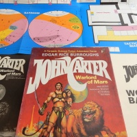 John Carter: Warlord of Mars adventure game (SPI, 1979)