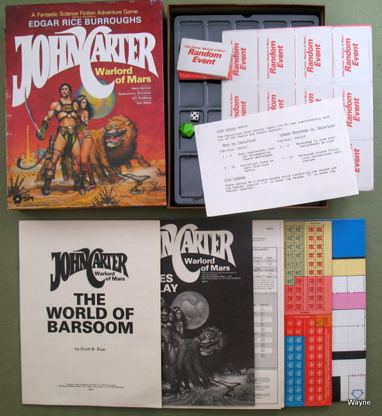 John Carter Warlord of Mars box set b