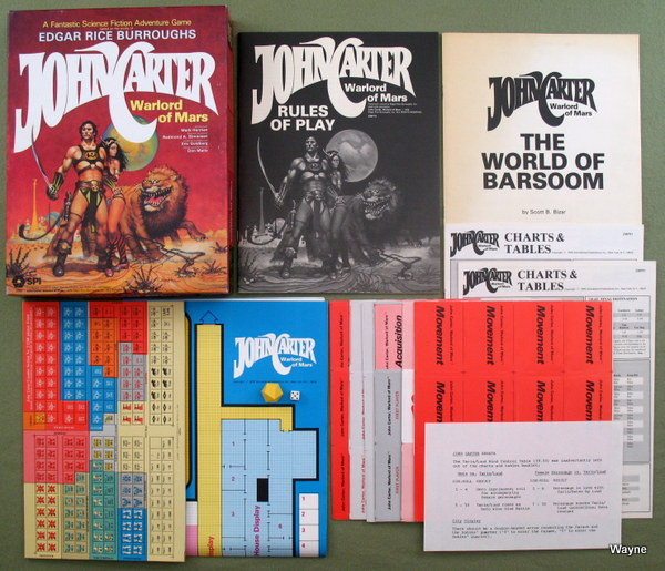 John Carter Warlord of Mars box set