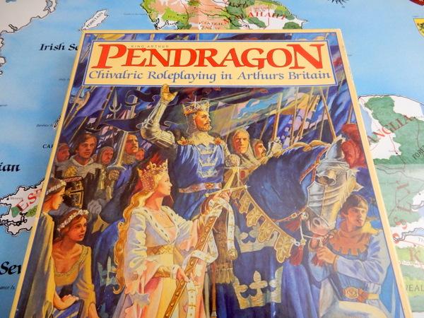 Pendragon 1st box cover detail-001