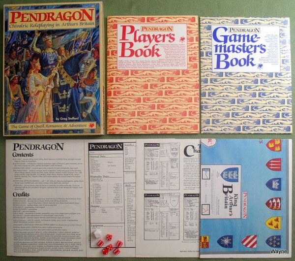 Pendragon 1st box set
