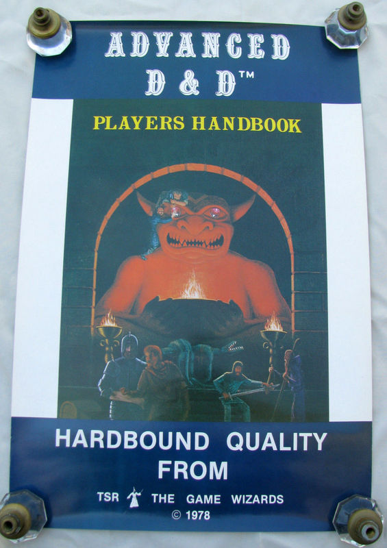 AD&D PHB poster