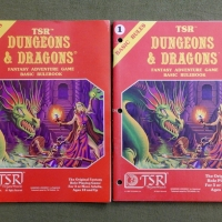 B/X D&D Basic Rules book: 1st print vs subsequent prints