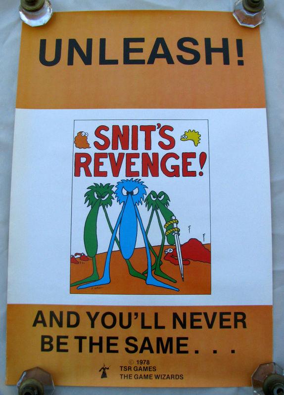 Snits Revenge poster