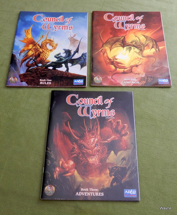 Council of Wyrms books