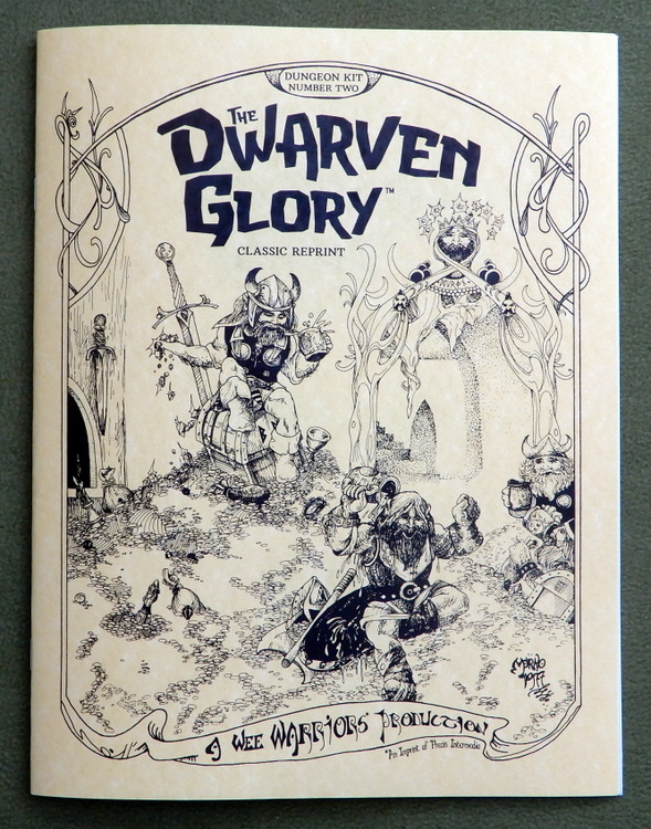 Dwarven Glory WW cover