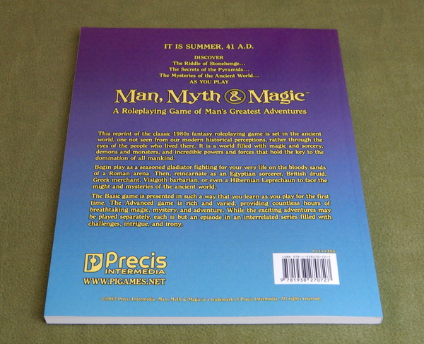 Man Myth Magic reprint back