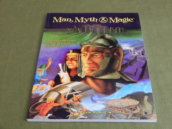 Man Myth Magic reprint