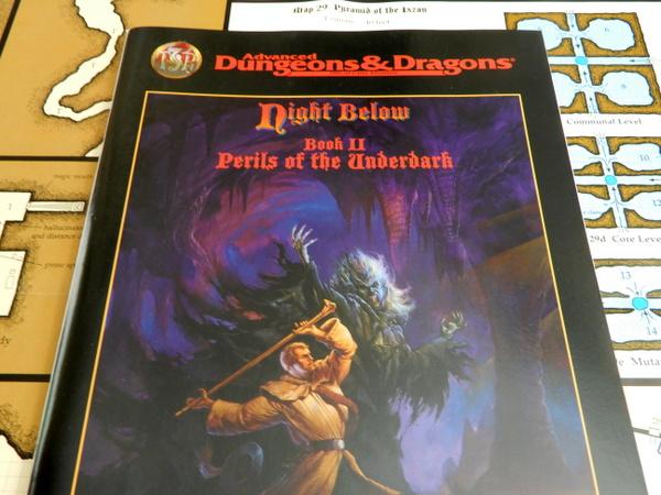 Night Below Book 2 detail
