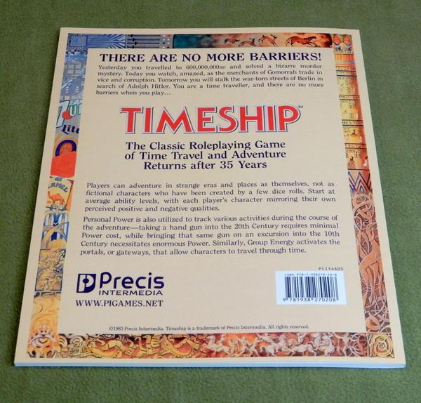Timeship reprint back