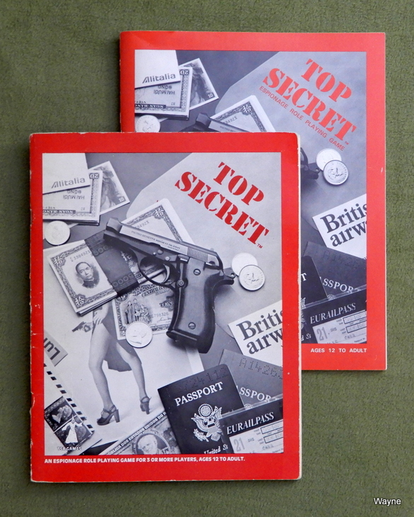 Top Secret black box book printings