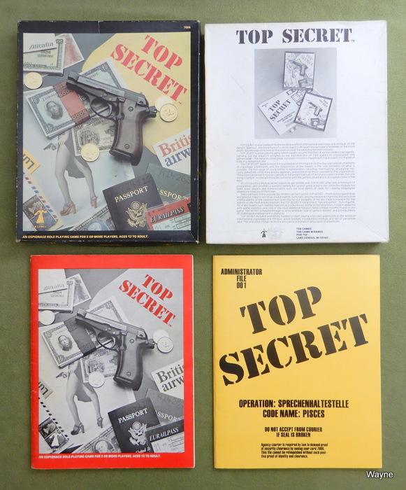 Top Secret Box 1st ed 1st print set