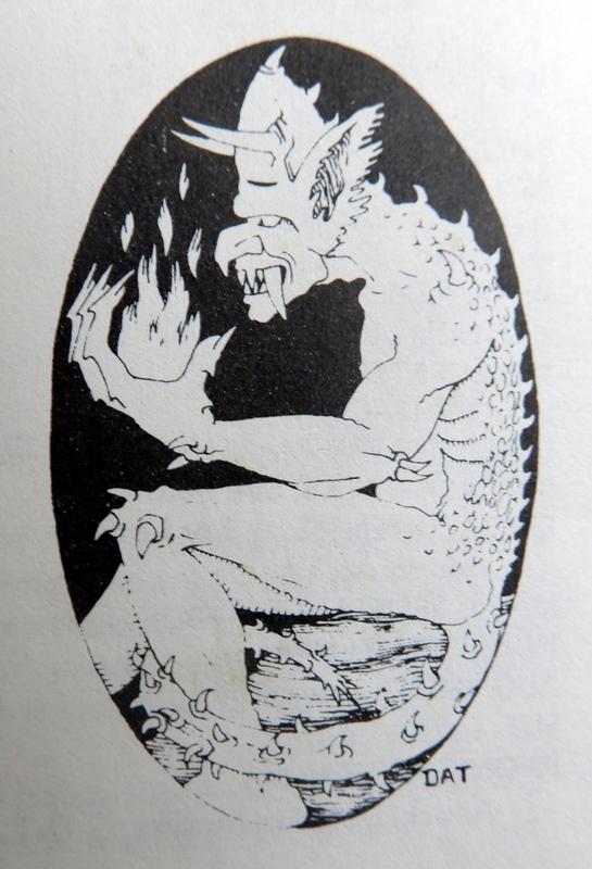 Barbed Devil - Monster Manual - David A Trampier