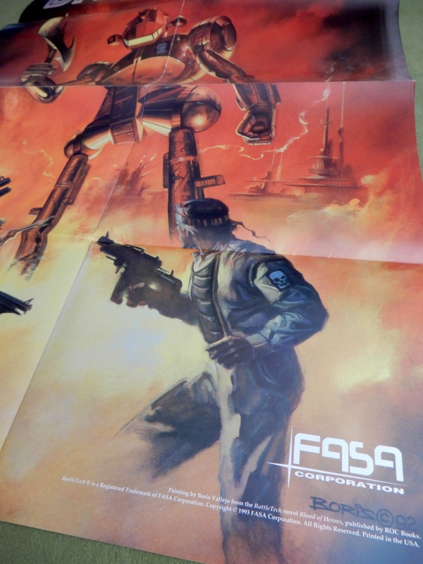 Battletech - Boris Vallejo poster 4