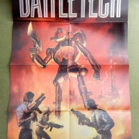 Battletech Poster... by Boris Vallejo? Oh Yes.