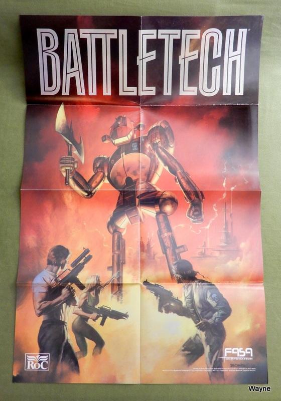 Battletech - Boris Vallejo poster