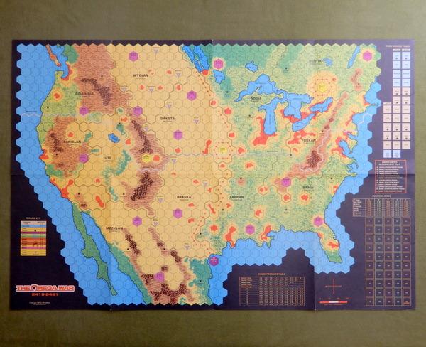 Omega War map