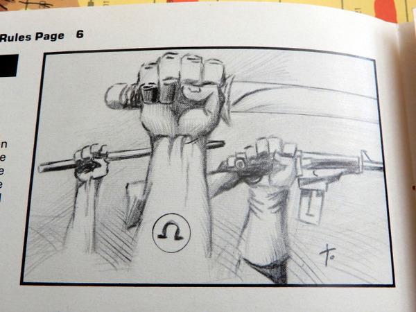 Omega War rules art 3