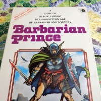 BARBARIAN PRINCE: Easy-to-play, hard-to-win Old School Solo Game (1981)