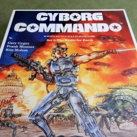 CYBORG COMMANDO: Gary Gygax's first game after TSR (1987)