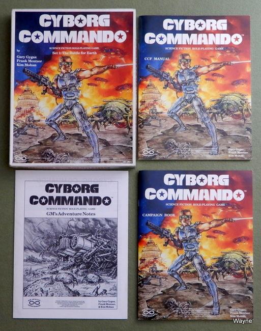 Cyborg Commando Box set