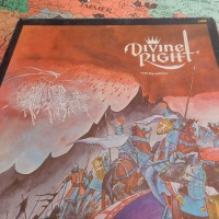 DIVINE RIGHT: TSR's early boardgame with RPG inspiration and that beautiful map (1979)