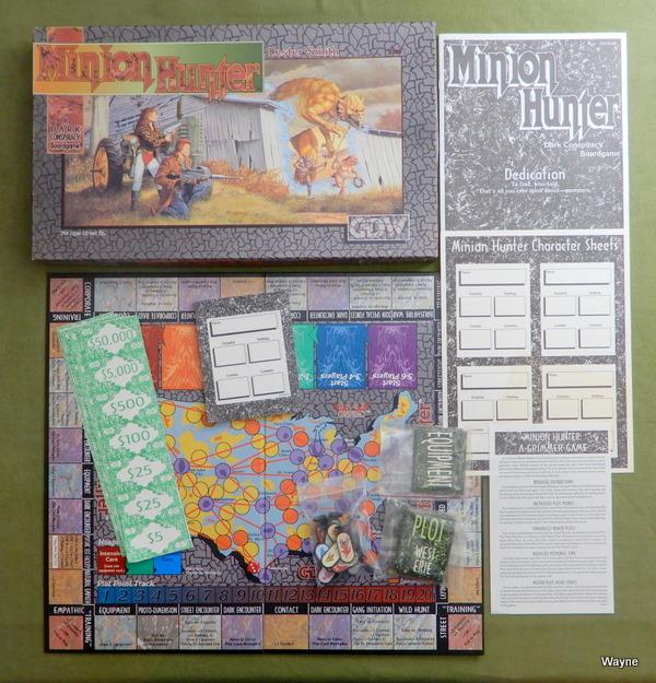 Minion Hunter box set b