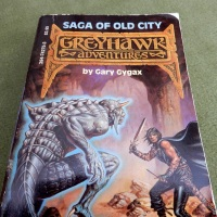 Saga of Old City: The Clyde Caldwell Art in Gary Gygax's first Greyhawk novel