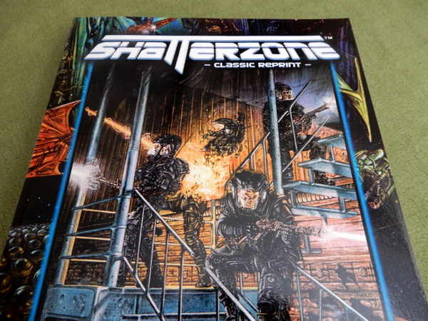 Shatterzone Reprint cover detail