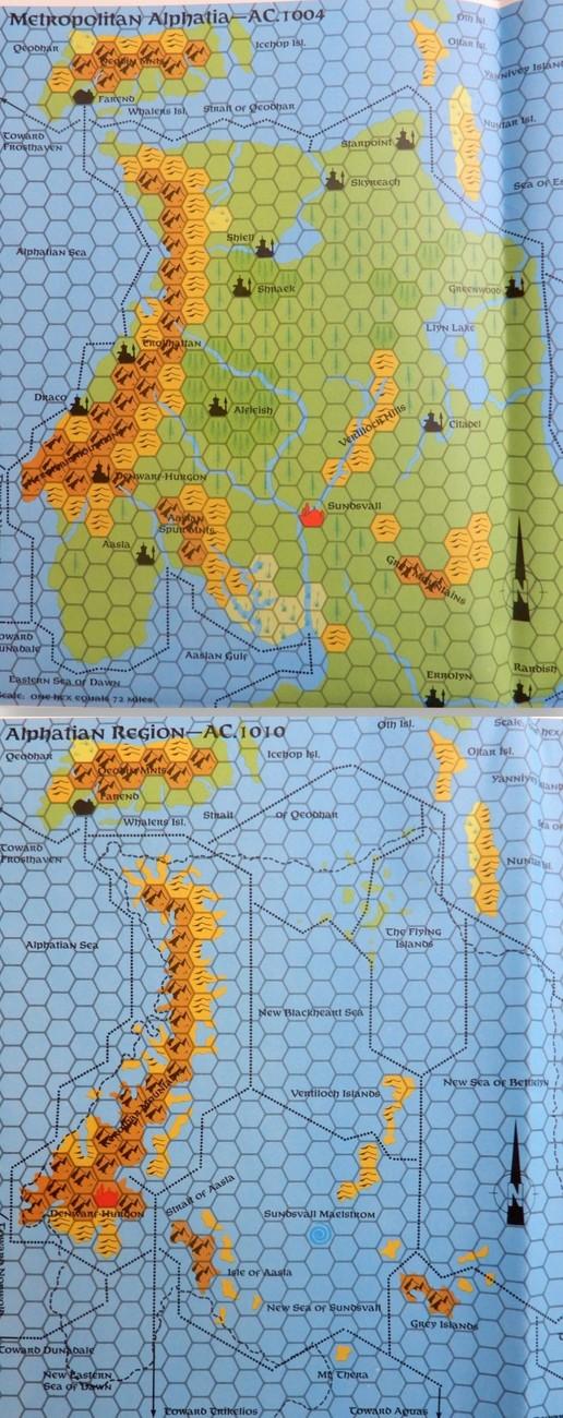 Alphatia changes