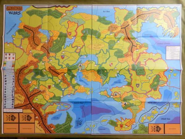 Greyhawk Wars maps