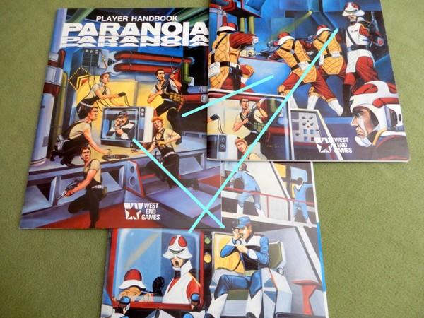 Paranoia 1st books theme art arrows-001