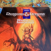 D&D Wrath of the Immortals: The Geography of Mystara's Cataclysm (1992)
