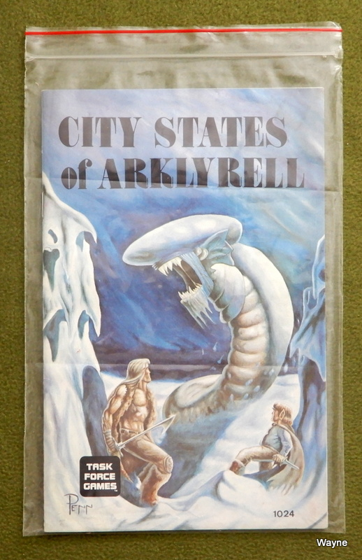 City States of Arklyrell in ziploc