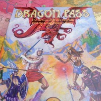 DRAGON PASS: Runequest in a Boardgame (1980)