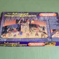 AD&D meets 80's Woodcraft set: Role Playing Dioramas