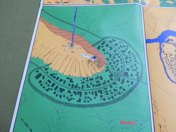 RA1 poster map detail SW