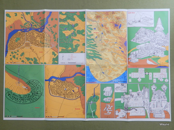 RA1 poster map