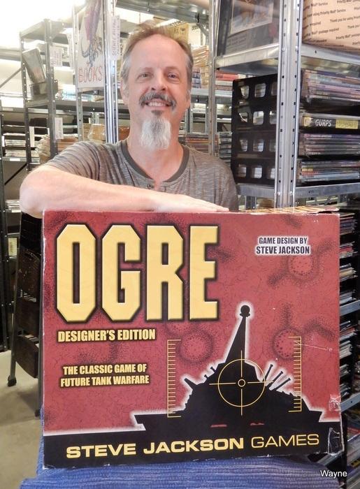 Wayne with Ogre DE set